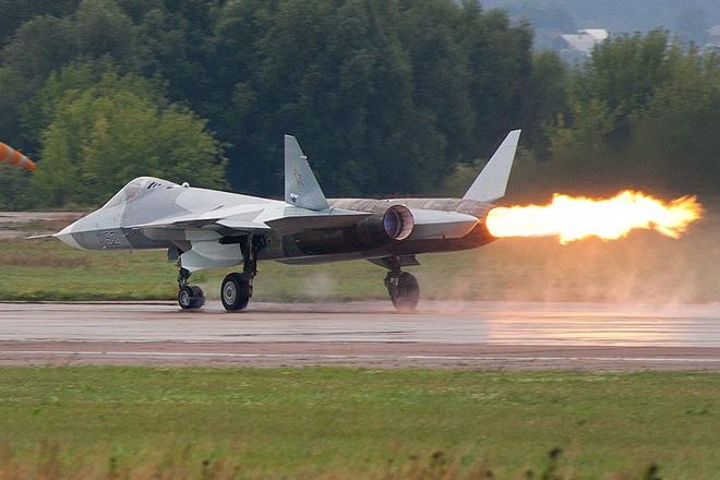 Siêu tiêm kích tàng hình Su-57 của Nga gặp nạn