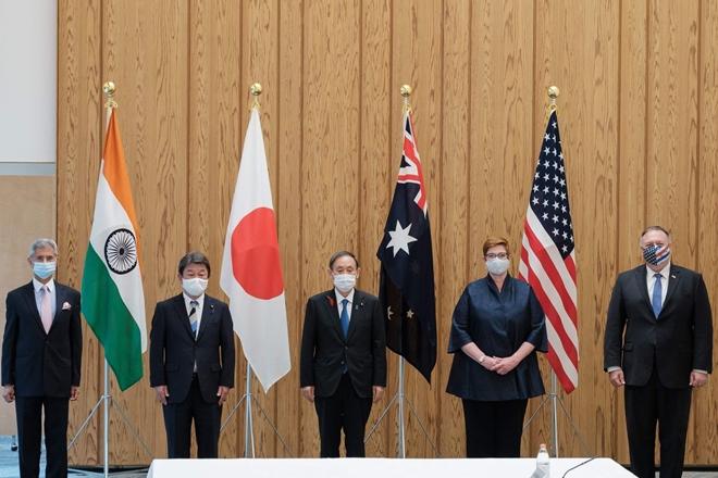 Bộ tứ Mỹ-Nhật-Ấn-Australia cảnh báo hành vi của Trung Quốc ở Biển Đông