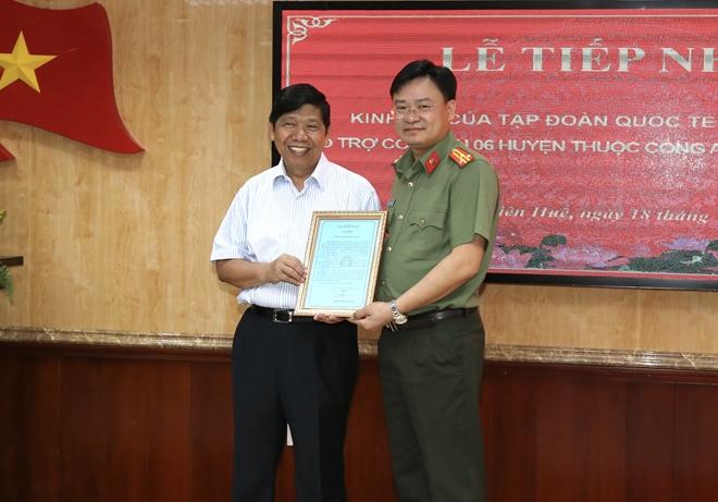 Báo CAND và Tập đoàn Quốc tế Phượng Hoàng ủng hộ Công an tỉnh Thừa Thiên Huế - Ảnh minh hoạ 2