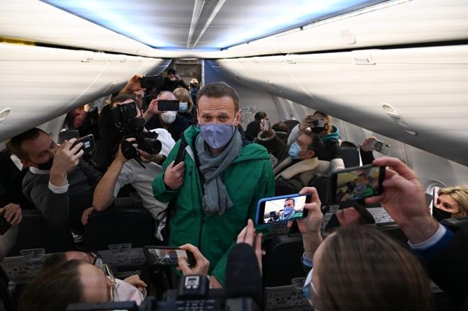 thumb 660 d343e260 bec2 42c0 9c3f 437ad155b363 | Nga bắt giữ ông Navalny ngay khi trở về từ Đức