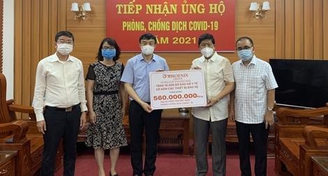 Tập đoàn Phượng Hoàng ủng hộ Bắc Ninh chống COVID-19