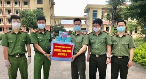 Tuổi trẻ Công an Thái Bình chung tay phòng chống dịch COVID-19