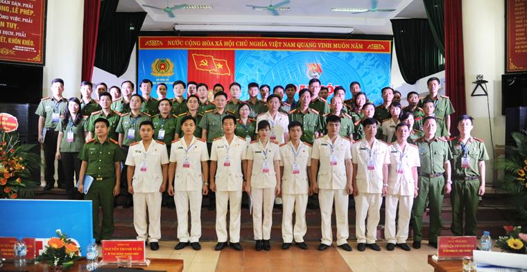Đại hội Đoàn Thanh niên Trường Trung cấp Cảnh sát nhân dân VI