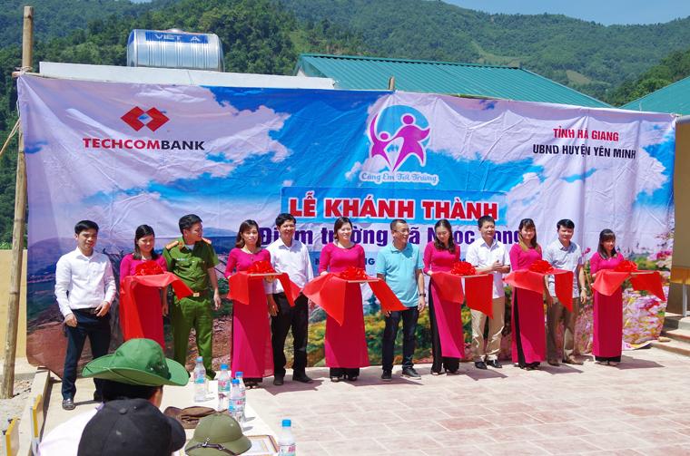 Khánh thành Điểm trường vùng cao tỉnh Hà Giang