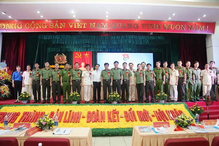 Đại hội Đoàn Thanh niên Trường Cao đẳng An ninh nhân dân I