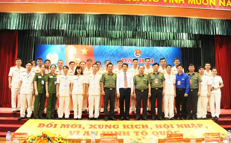 Đại hội Đoàn Thanh niên Tổng cục Chính trị CAND thành công tốt đẹp