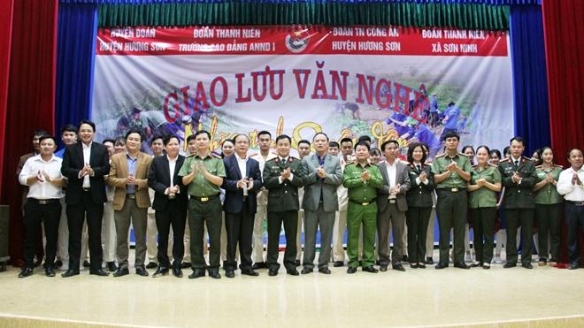 Nhiều hoạt động ý nghĩa của Tuổi trẻ Trường Cao đẳng ANND I tại Hà Tĩnh