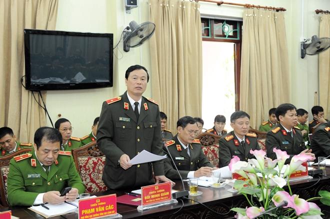 Thứ trưởng Nguyễn Văn Thành kiểm tra công tác tại Công an tỉnh Cao Bằng - Ảnh minh hoạ 2