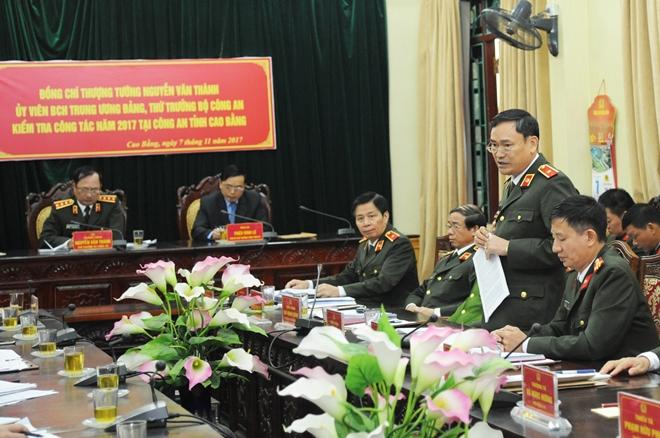 Thứ trưởng Nguyễn Văn Thành kiểm tra công tác tại Công an tỉnh Cao Bằng - Ảnh minh hoạ 3