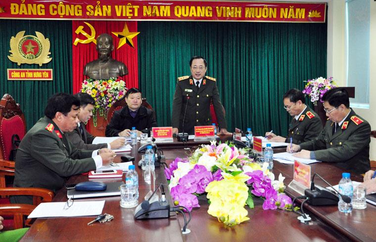 Lấy ý kiến Kết luận thanh tra công tác PCCC tại Hưng Yên