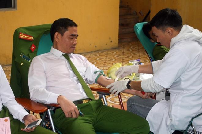 Sôi nổi Ngày hội hiến máu tuổi trẻ Trường Đại học PCCC - Ảnh minh hoạ 4