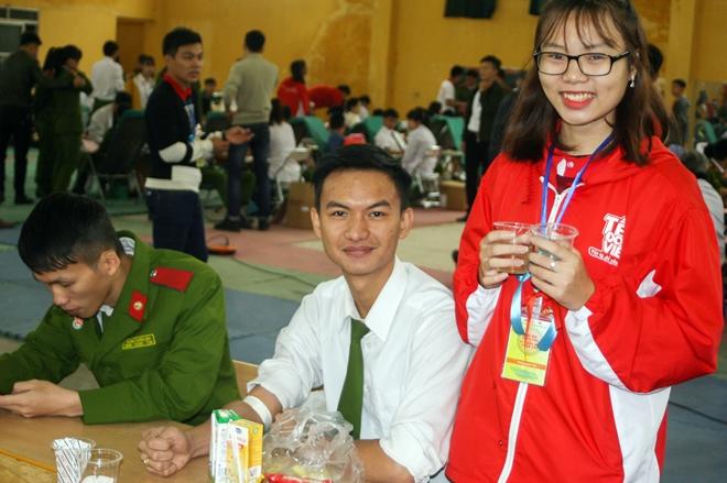 Sôi nổi Ngày hội hiến máu tuổi trẻ Trường Đại học PCCC - Ảnh minh hoạ 5