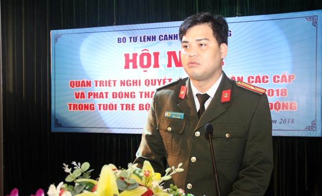 Tuổi trẻ Bộ Tư lệnh CSCĐ xung kích, sáng tạo vì an ninh Tổ quốc - Ảnh minh hoạ 3