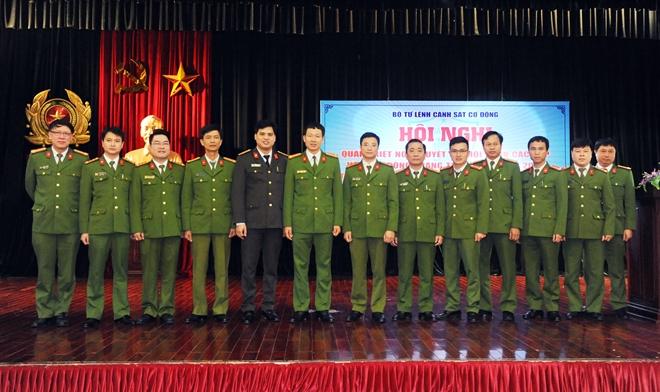 Tuổi trẻ Bộ Tư lệnh CSCĐ xung kích, sáng tạo vì an ninh Tổ quốc