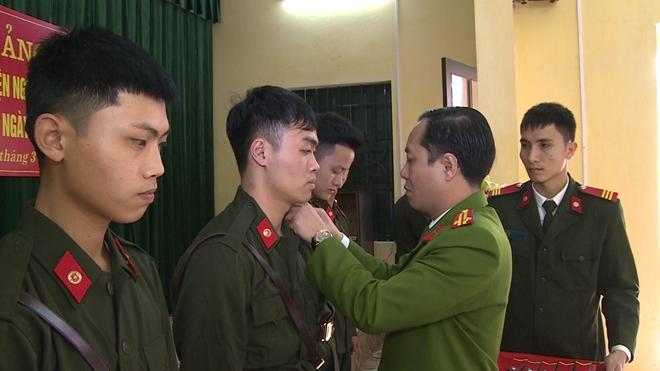 Khai giảng lớp huấn luyện chiến sỹ nghĩa vụ năm 2018