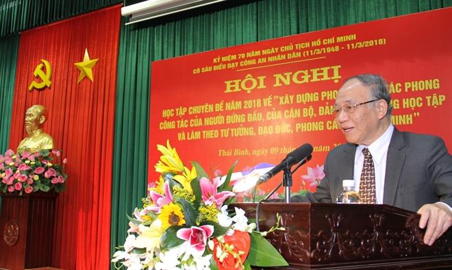 Công an Thái Bình đẩy mạnh học tập và làm theo tư tưởng, đạo đức, phong cách Hồ Chí Minh - Ảnh minh hoạ 3