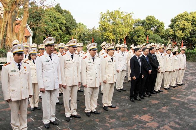 Công an Thái Bình đẩy mạnh học tập và làm theo tư tưởng, đạo đức, phong cách Hồ Chí Minh