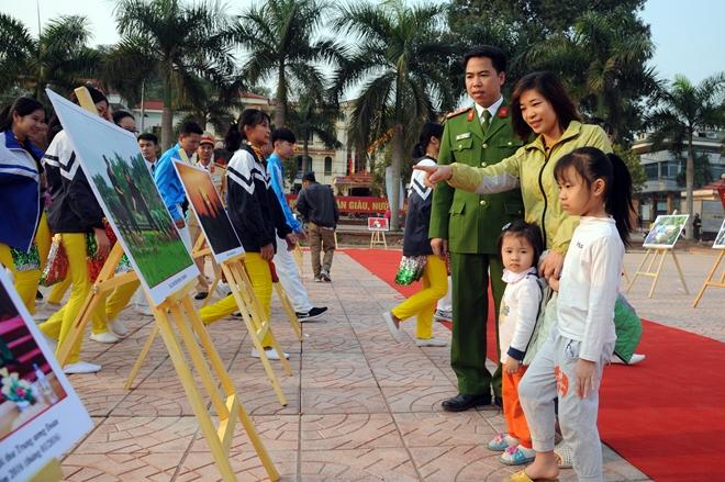 """Khai mạc Hội trại """"Tuổi trẻ Công an nhân dân học tập, thực hiện Sáu điều Bác Hồ dạy"""" - Ảnh minh hoạ 6"""