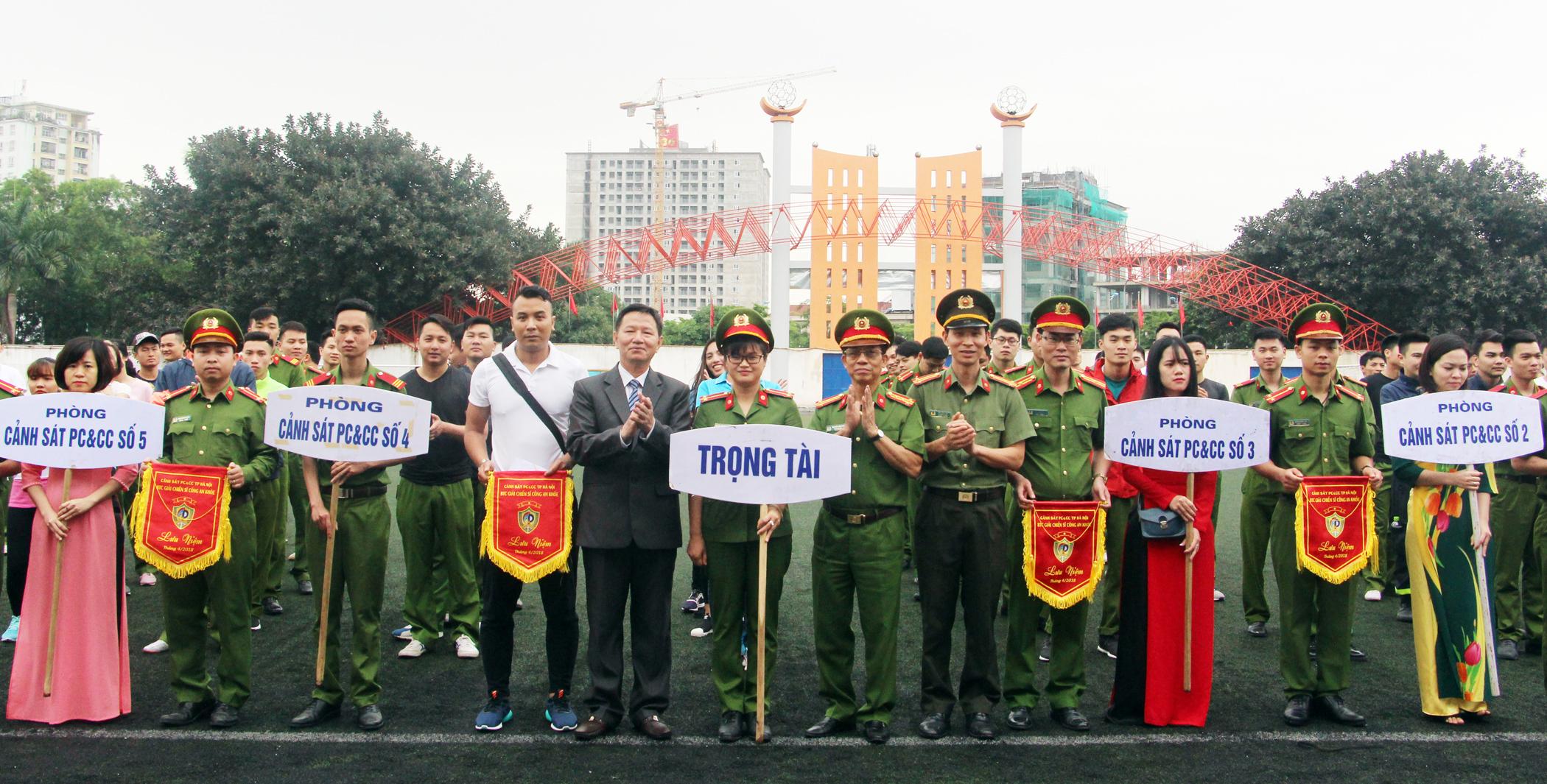 Khai mạc Đại hội TDTT Cảnh sát PCCC TP Hà Nội
