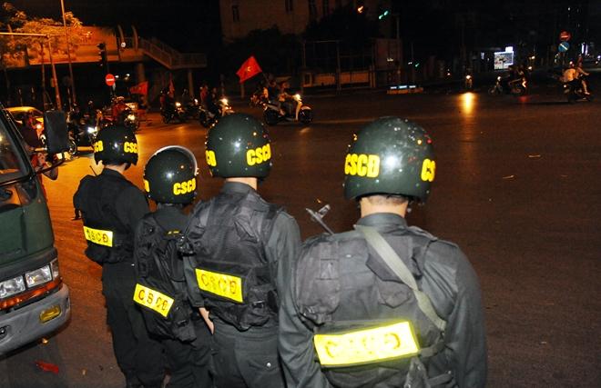 Công an Hà Nội thức xuyên đêm đảm bảo an ninh trật tự - Ảnh minh hoạ 13