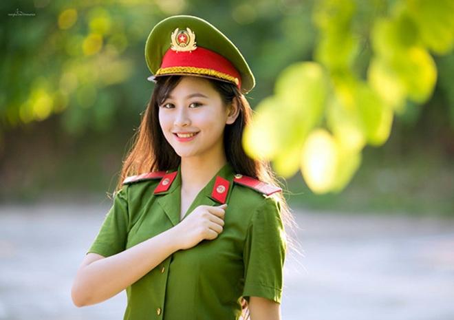 Nữ Học viên Học viện Cảnh sát xinh đẹp và tài năng - Ảnh minh hoạ 11