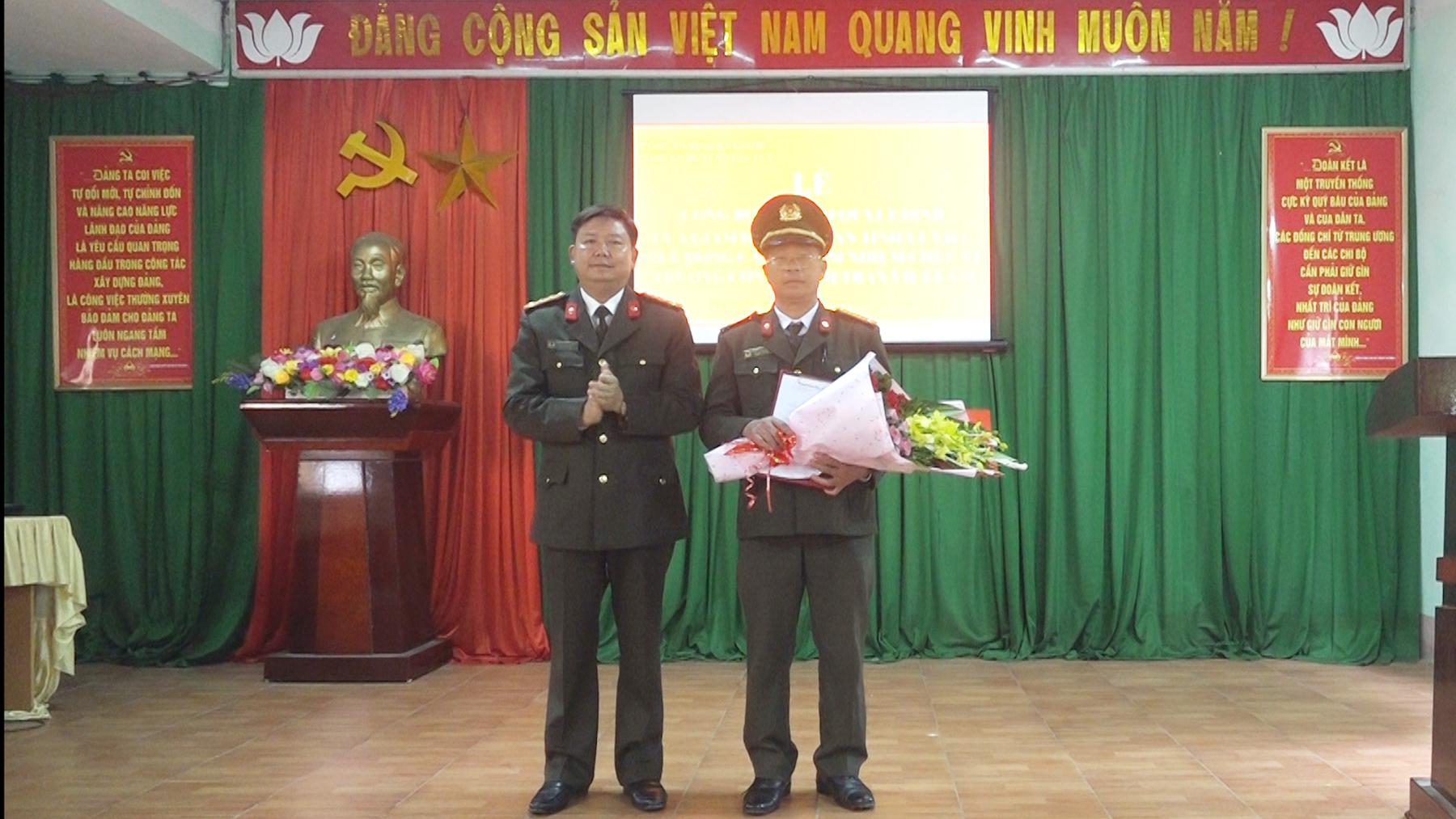 Công an tỉnh Hà Giang điều động Công an chính quy đảm nhiệm chức danh Trưởng Công an xã