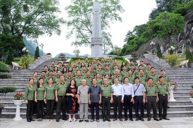 Cụm thi đua số 1 - Bộ Công an về nguồn tại Cao Bằng1 - Ảnh minh hoạ 7