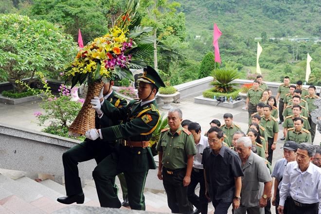 Cụm thi đua số 1 - Bộ Công an về nguồn tại Cao Bằng1