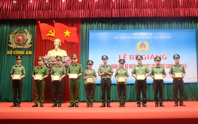 Bế mạc Lớp tập huấn cán bộ Đoàn chủ chốt lực lượng CAND - Ảnh minh hoạ 3