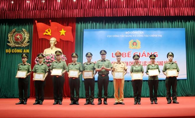 Bế mạc Lớp tập huấn cán bộ Đoàn chủ chốt lực lượng CAND - Ảnh minh hoạ 2