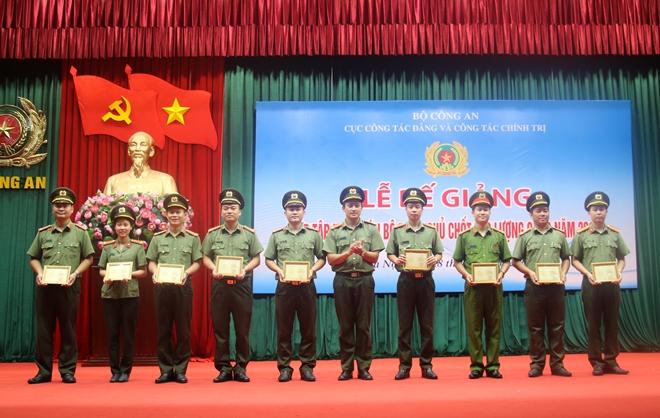 Bế mạc Lớp tập huấn cán bộ Đoàn chủ chốt lực lượng CAND - Ảnh minh hoạ 4