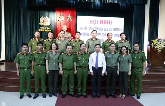 Kiểm soát tốt các tuyến ma túy thẩm lậu vào địa bàn tỉnh Nam Định