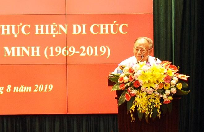 Khẳng định giá trị sâu sắc Di chúc của Chủ tịch Hồ Chí Minh