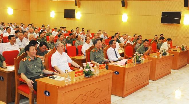 Bộ Công an gặp mặt truyền thống các thế hệ cán bộ lãnh đạo