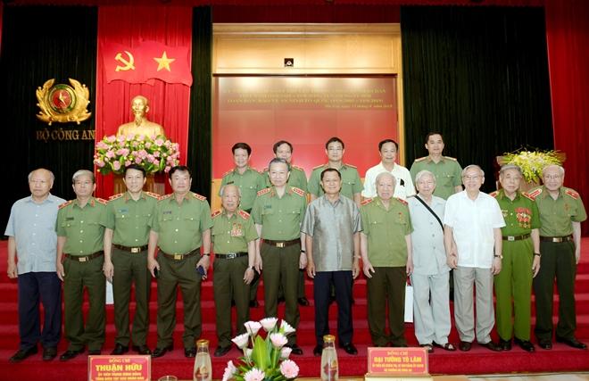 Bộ Công an gặp mặt truyền thống các thế hệ cán bộ lãnh đạo - Ảnh minh hoạ 4