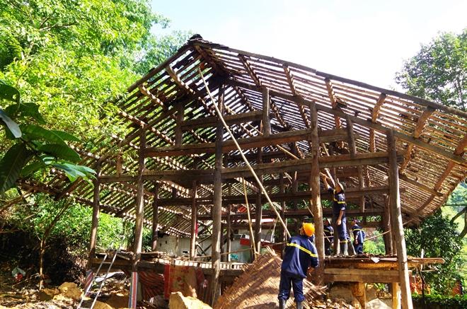 Công an tỉnh Hà Giang tăng cường giúp dân khắc phục hậu quả thiên tai - Ảnh minh hoạ 3