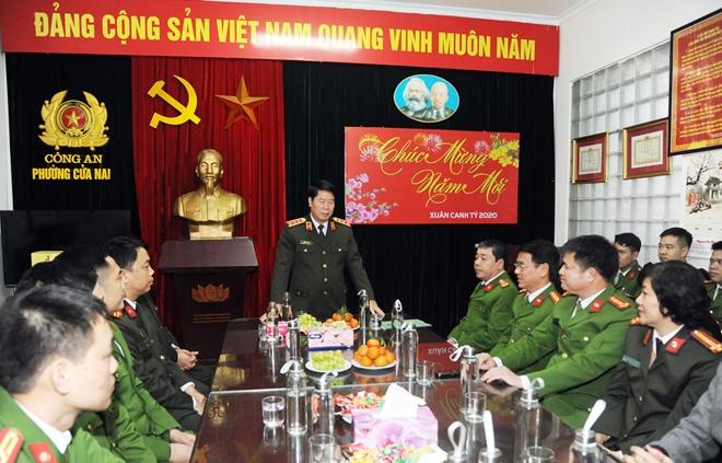 Thứ trưởng Bùi Văn Nam kiểm tra công tác tại Công an phường Cửa Nam - Ảnh minh hoạ 3