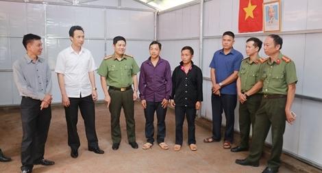 Bộ Công an xây dựng, sửa chữa nhà ở tặng hộ nghèo tại Nậm Pồ