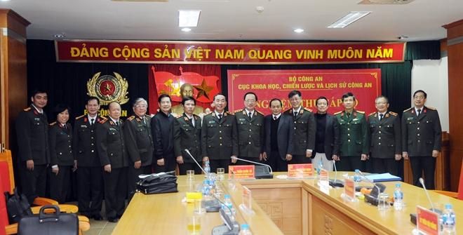 """Nghiệm thu Đề tài khoa học lịch sử cấp Bộ  """"75 năm Công an nhân dân Việt Nam"""""""