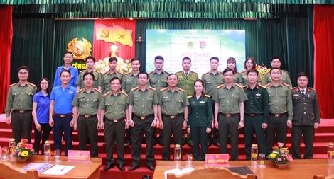 Phát huy vai trò của thanh niên trong công tác tham mưu,  xây dựng lực lượng CAND