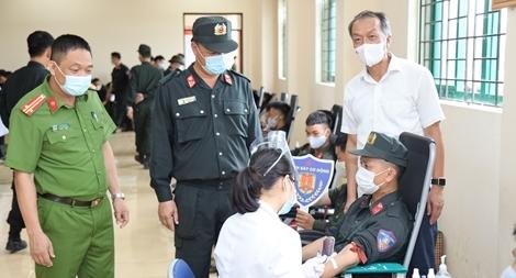 Tuổi trẻ CSCĐ tham gia hiến máu tình nguyện