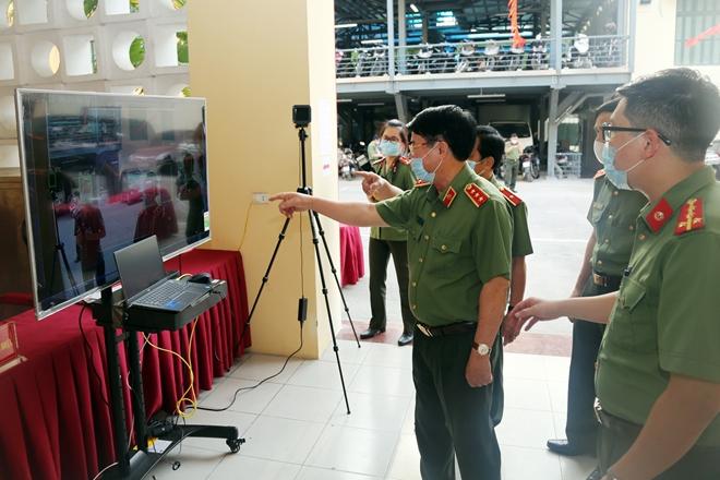 Thứ trưởng Bùi Văn Nam kiểm tra công tác chuẩn bị bầu cử tại cơ quan Bộ Công an - Ảnh minh hoạ 2