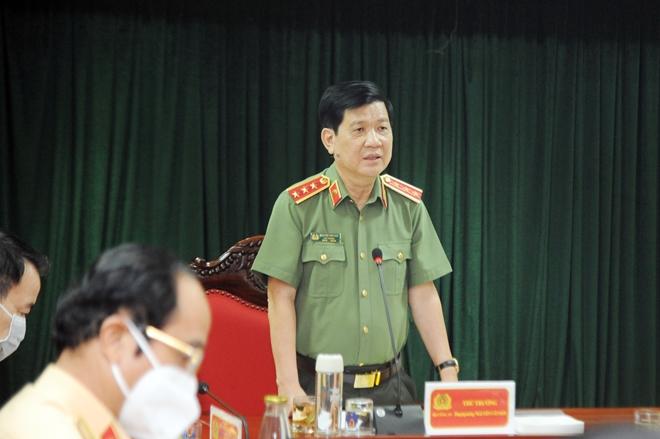 Cục CSGT đẩy mạnh công tác phòng chống dịch trong thực hiện nhiệm vụ - Ảnh minh hoạ 2