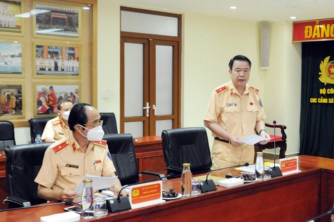 Cục CSGT đẩy mạnh công tác phòng chống dịch trong thực hiện nhiệm vụ - Ảnh minh hoạ 3