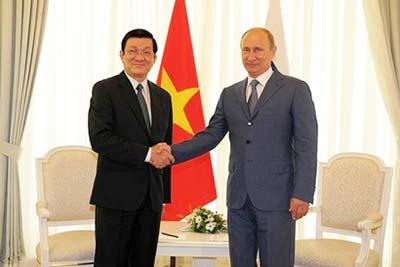 Quan hệ Việt - Nga phát triển tốt đẹp