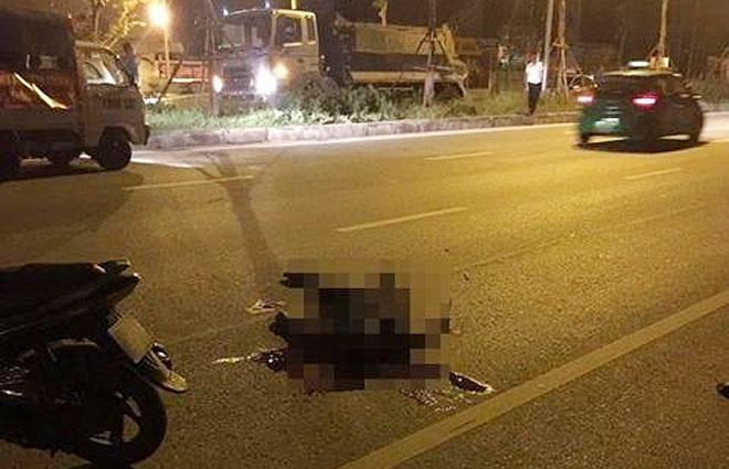 Khởi tố lái xe gây tai nạn làm Trung úy Cảnh sát khu vực tử vong - ảnh 1
