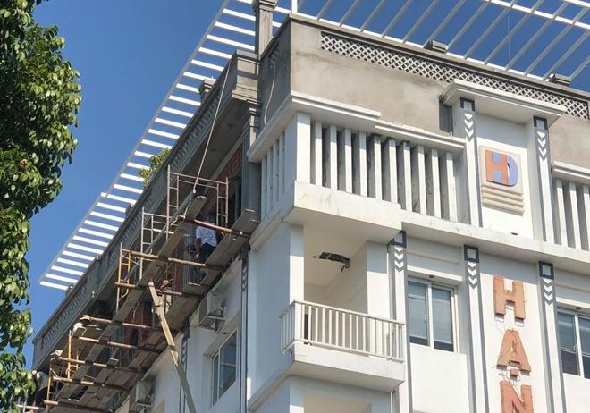 Công trình cao tầng ở Huế 2 lần bị xử phạt vẫn ngang nhiên xây dựng không phép 3