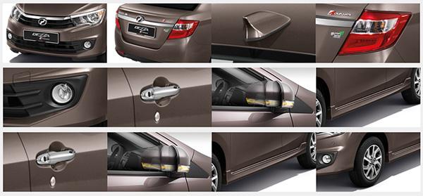 Perodua Bezza giá bao nhiêu? thiết kế xe Perodua Bezza của Malaysia có gì? 4