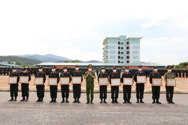 chương trình huấn luyện công an nghĩa vụ